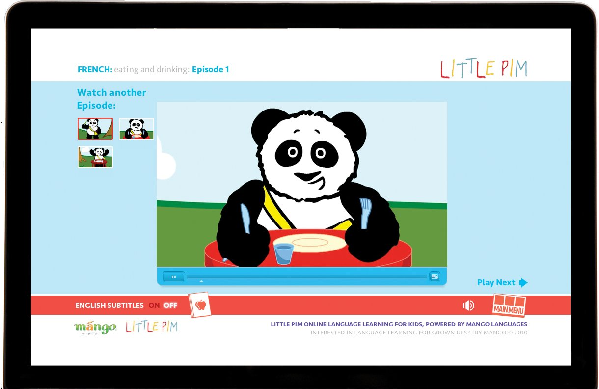Little Pim language learning program for children from Mango Languages